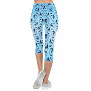 Hockey 3/4 Capri Leggings