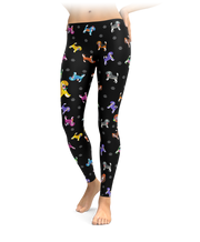 Colorful Beagle Leggings