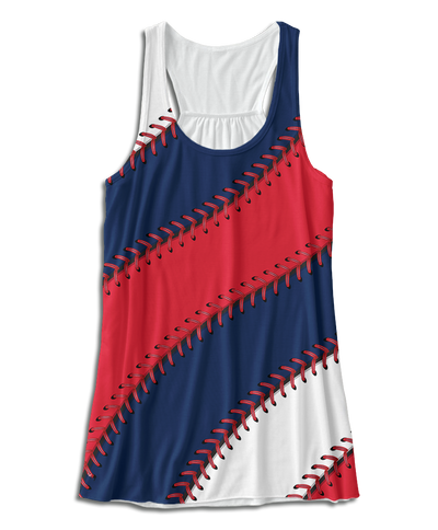 Cleveland Ball Stitch Racerback Tank Top