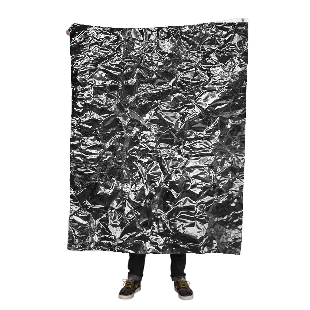 Burrito Wrapper Fleece Blanket