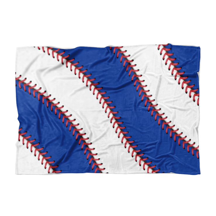 North Side Chicago Ball Stitch Fleece Blanket