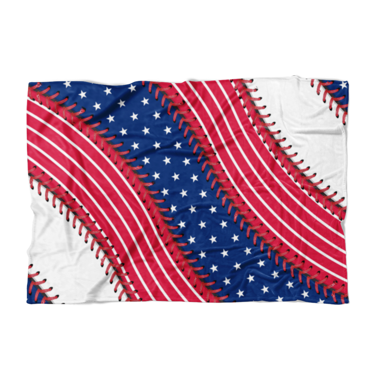 Washington Ball Stich Fleece Blanket