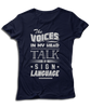 The Voices In My Head Talk In Sign Language