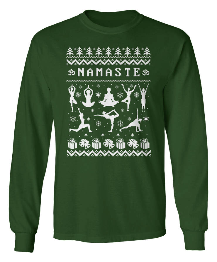 Ugly Yoga Sweater - Holiday Apparel