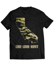 California Silhouette - Hunters Hunting