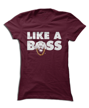 Like a BOSS - Cute Dog Golden Retriever Apparel