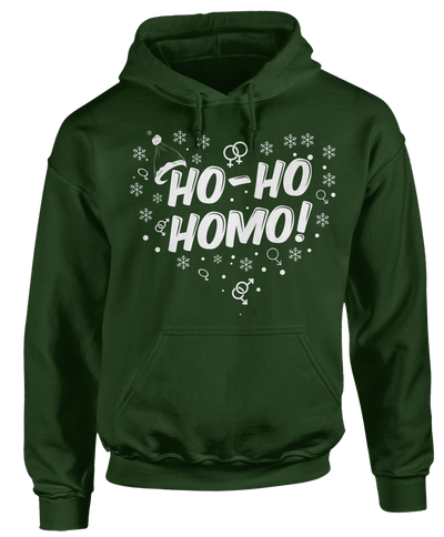 Ho-Ho-Homo - LGBT Ugly Christmas Sweater - Holidays