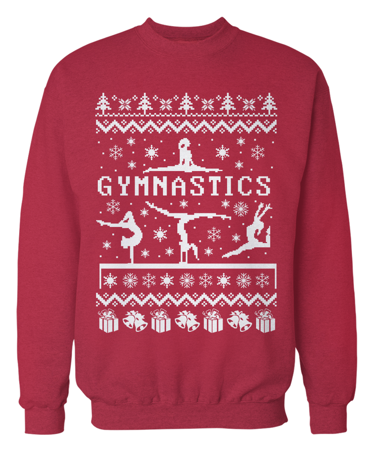 Ugly Gymnastics Sweater - Holiday Apparel