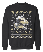 T-Rex Dinosaur Ugly Christmas Sweater