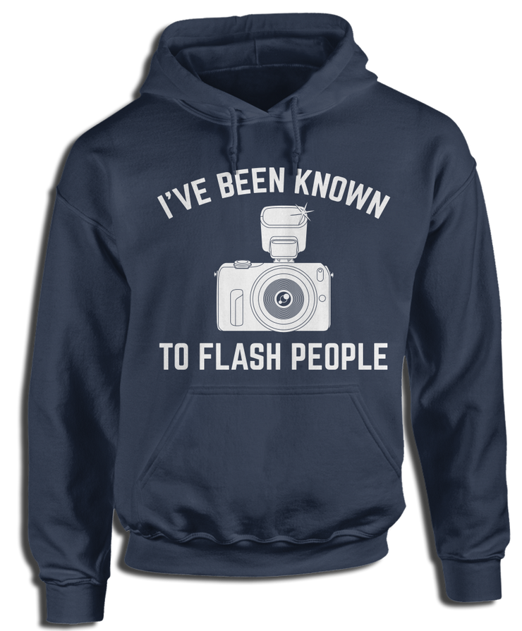I've Been Known To Flash People