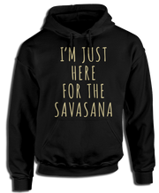 Here for the Savasana