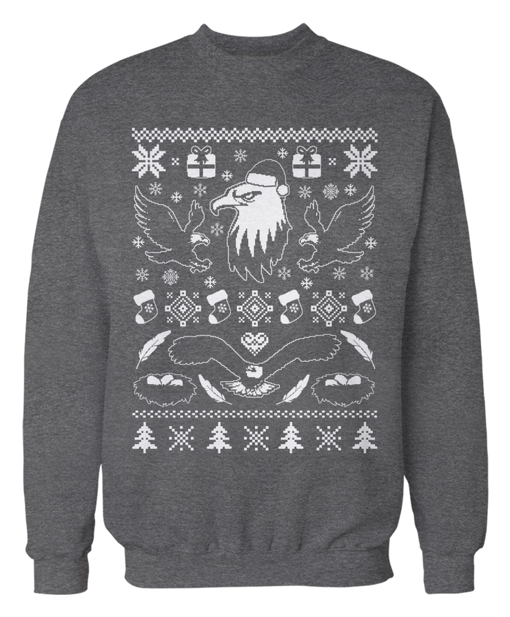 Ugly Bald Eagle Sweater - Holiday Apparel