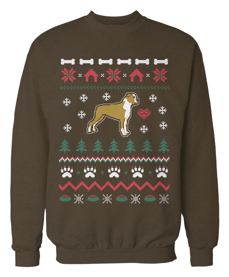 Boxer Ugly Christmas Sweater - Holidays