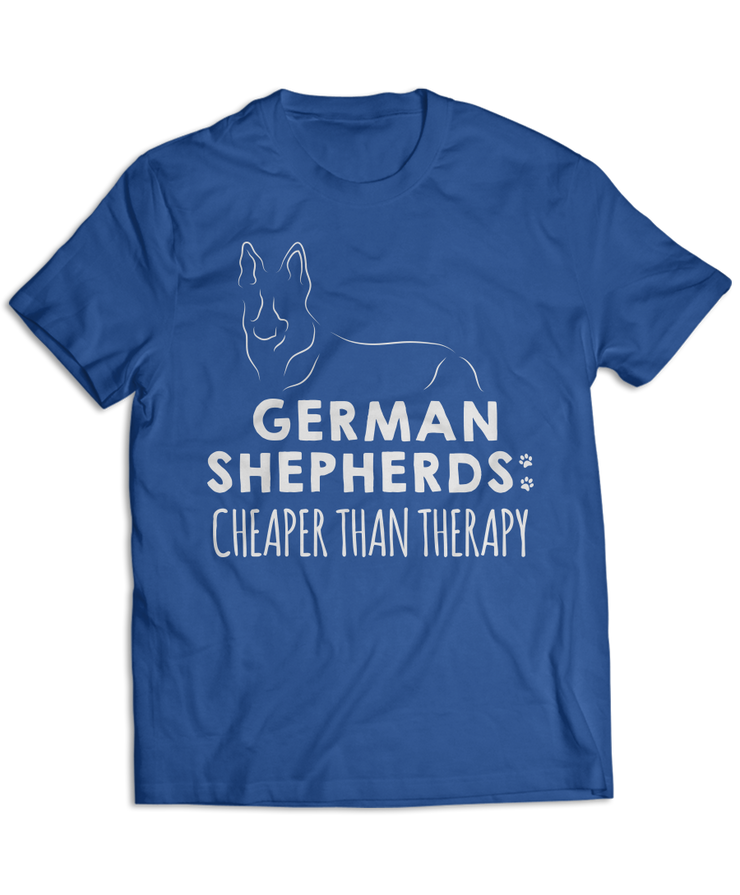 German Shepherds: Cheaper Than Therapy