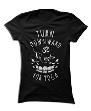 Turn Downward for Yoga