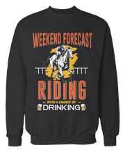Weekend Forecast - Riding with a Chance of Drinking