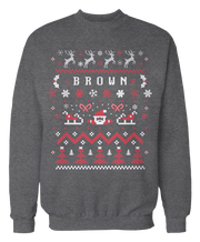 Ugly Brown Christmas Sweater