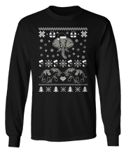 Elephant Ugly Christmas Sweater - Holidays