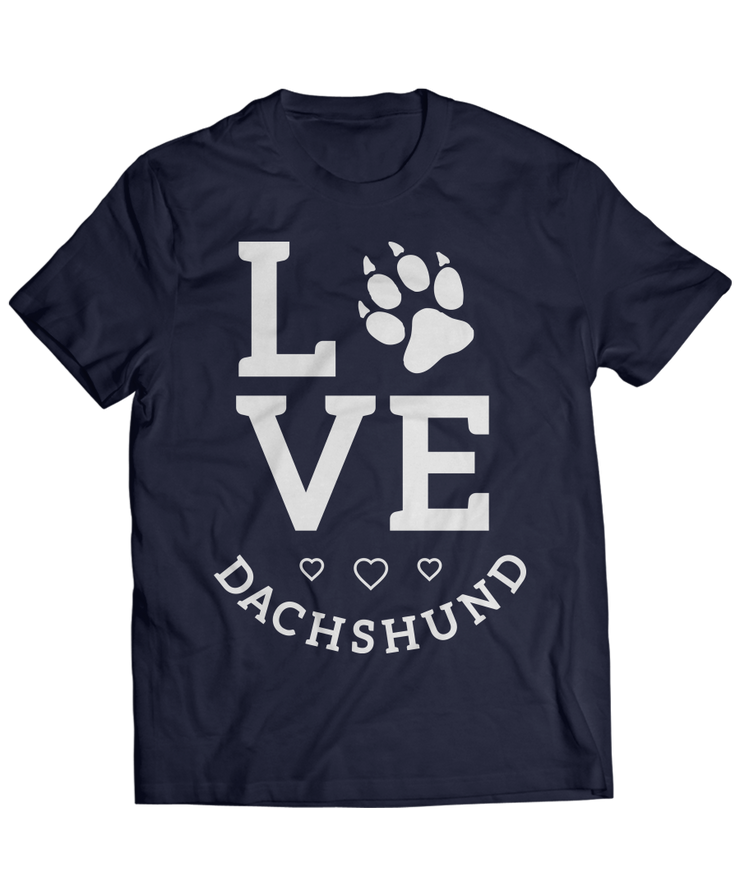 Love Square - Cute Dachshund Apparel