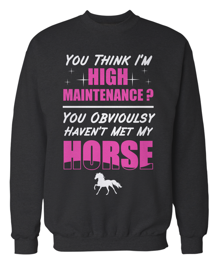 Think I'm High Maintenance? Obviously Haven't Met My Horse