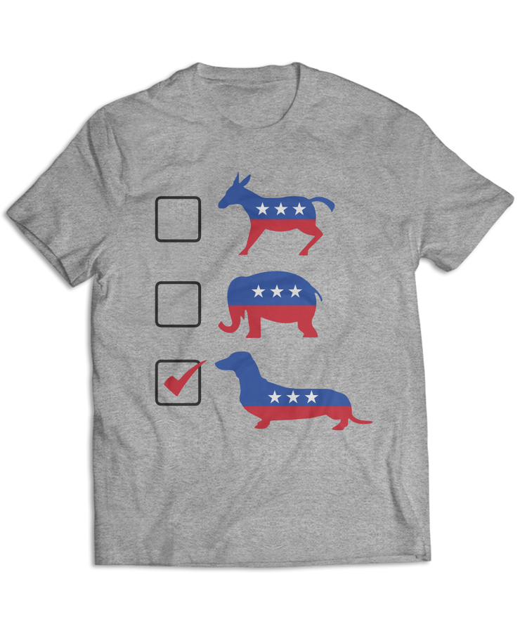 Vote Dachshunds