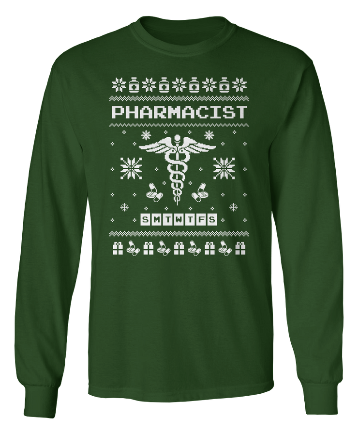 Ugly Pharmacist Sweater - Holiday Apparel