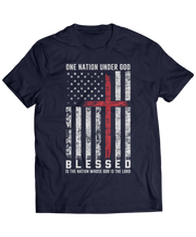 One Nation Under God - Patriotic Christian Aparel