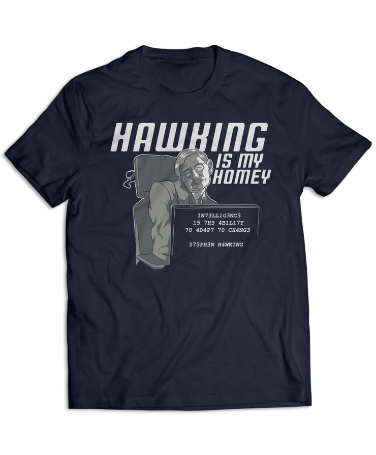 Hawking Is My Homey