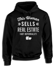 This Woman Sells Real Estate (Got Referrals?) - Cute Realtor Apparel