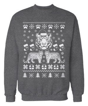Tiger Ugly Christmas Sweater - Holidays