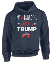 My Bulldog Supports Donald Trump