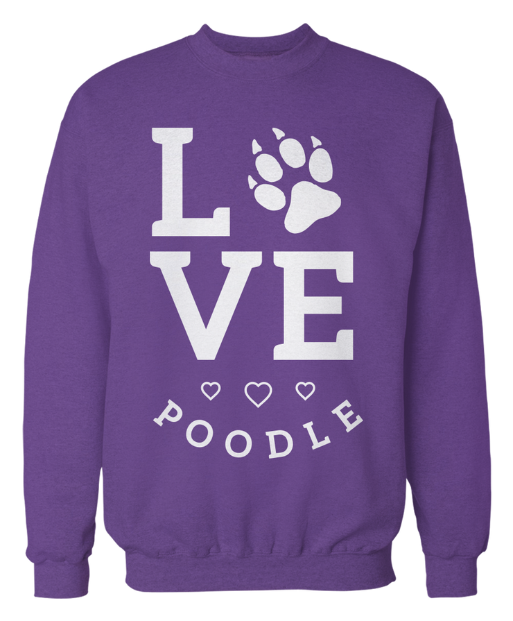Love Square - Cute Poodle Apparel