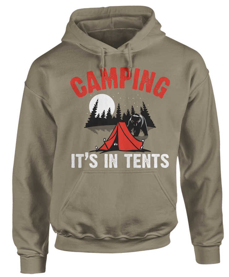 Camping, It's In Tents