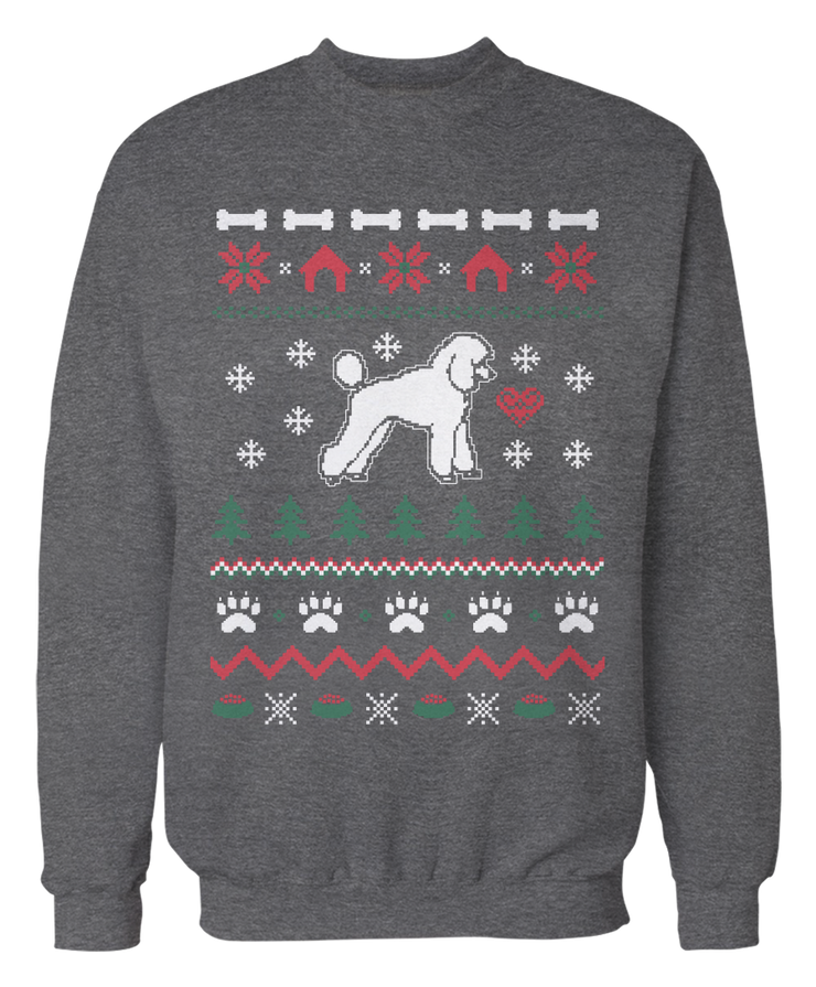 Poodle Ugly Christmas Sweater
