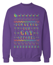 Don We Now Our Gay Apparel LGBT Ugly Christmas Sweater - Holidays
