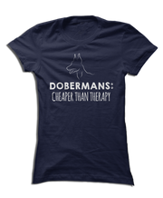 Dobermans: Cheaper Than Therapy