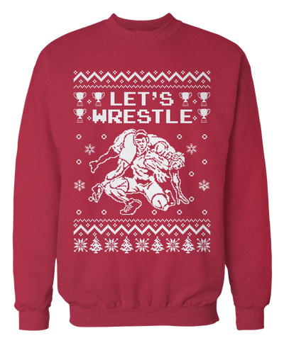 Ugly Wrestling Sweater - Holiday Apparel
