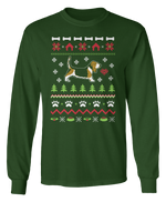 Basset Hound Ugly Christmas Sweater - Holidays