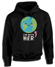 I'm With Her Earth T-Shirt