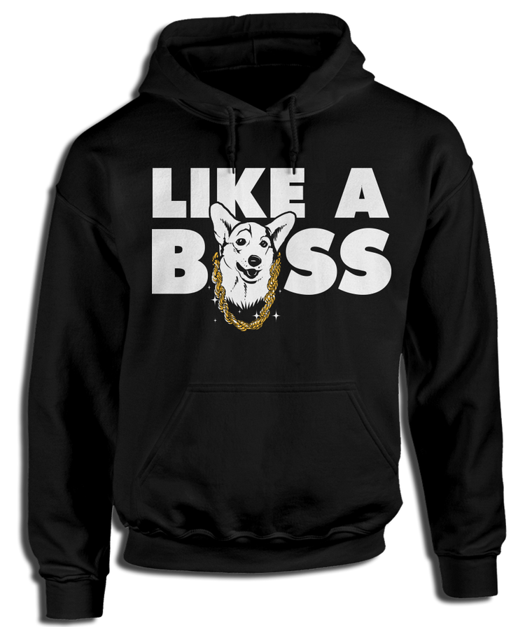 Like a BOSS - Cute Corgi Apparel