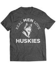 Real Men Love Huskies