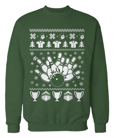 Bowling Ugly Christmas Sweater - Holidays