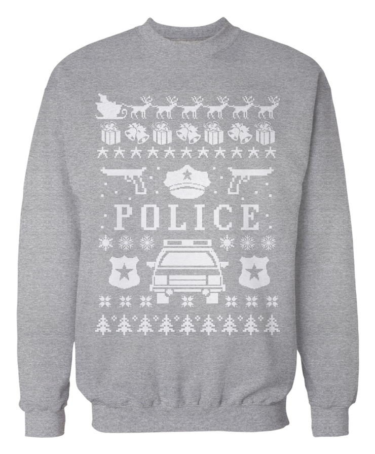 Cops and Police Ugly Christmas Sweater - Holidays