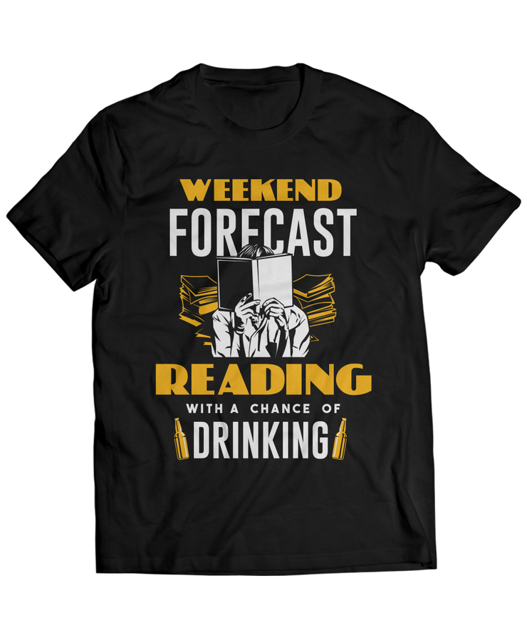 Weekend Forecast - Reading with a Chance of Drinking