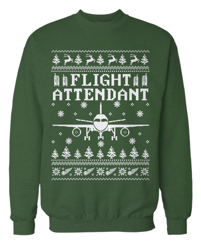 Ugly Flight Attendant Sweater - Holiday Apparel