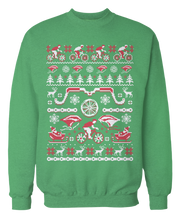 Cycling Ugly Christmas Sweater - Holidays