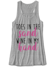 Toes In The Sand, Wine In My Hand