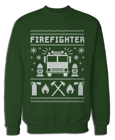 Ugly Firefighter Sweater