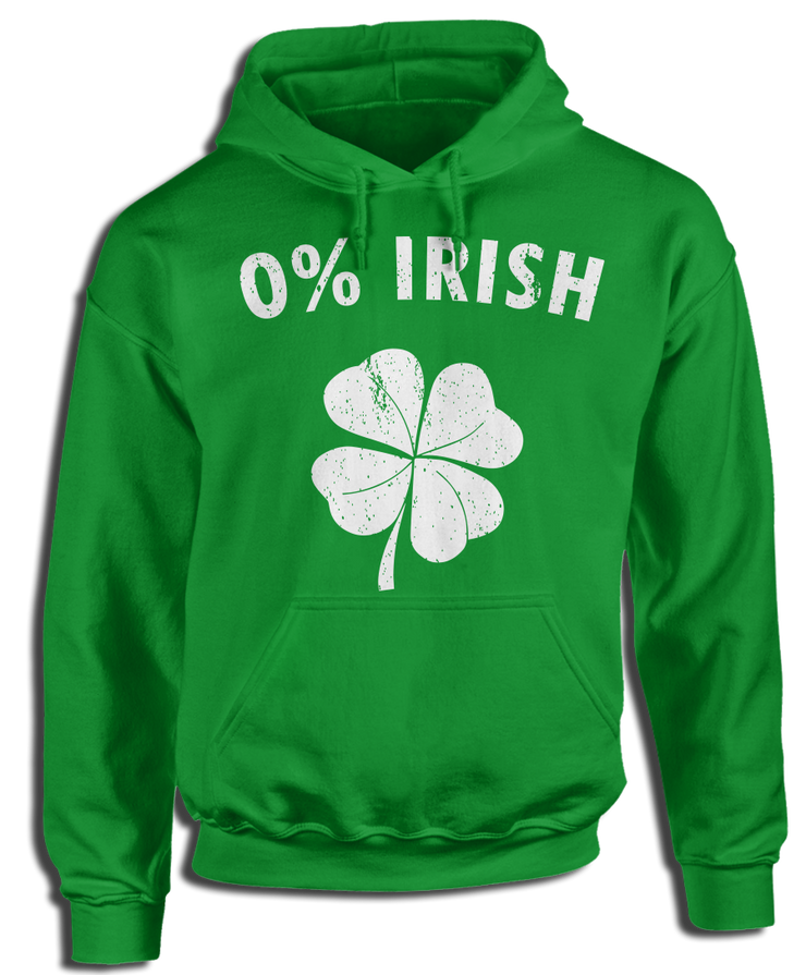 0% Irish For The Spirit of St. Patrick