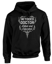 Tattooed Doctor - Inked And Educated - Funny Tattoo Doctor Apparel